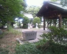 弥生慰霊堂参拝 2012.8.15