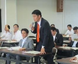 財政委員会管外視察 福島県いわき市 2012.7.11
