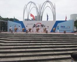 よさこい祭り開会式 2012.7.14