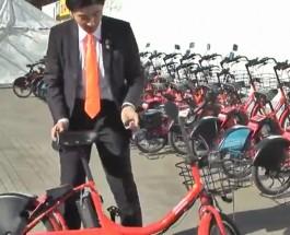 政務活動ビデオ『自転車シェアリング』