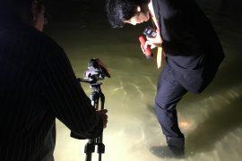 豊洲市場 管理棟・加工パッケージ棟地下 視察 2016.9.23