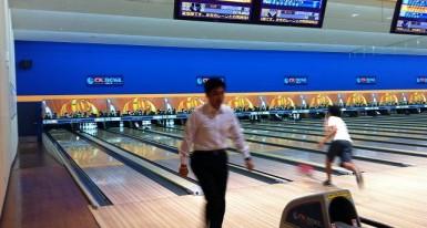 友人とボウリング 2012.8.13